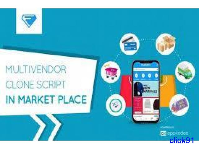 Advanced Multi-Vendor E-Commerce Script With Android and Ios - 1/1