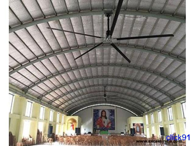 Commercial HVLS Fans in Coimbatore - Excess India - 3/4