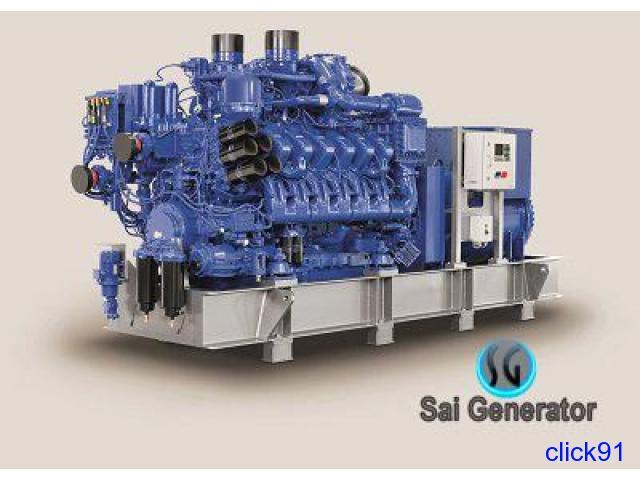 USED GENERATOR SALE - 5 KVA to 2400 KVS Skoda-Hyundai-Sudhir-Kirloskar - 1/1