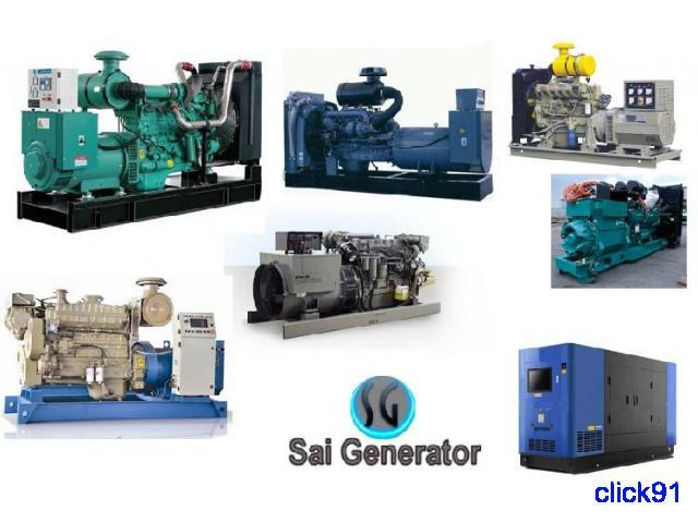 Used generators sale Cummins - Kirloskar, Ashok leyland Shree Sai Generator - 1/1